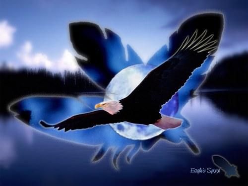 l'aigle et la linotte